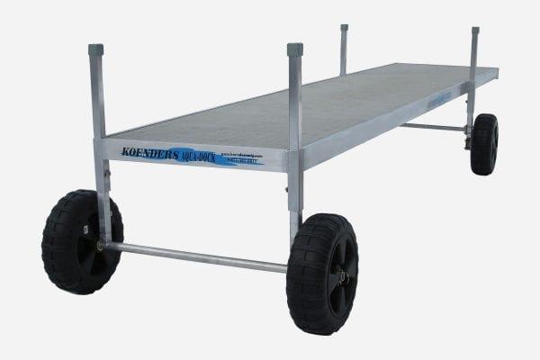 20ft Roll in Dock 4 Wheel Option