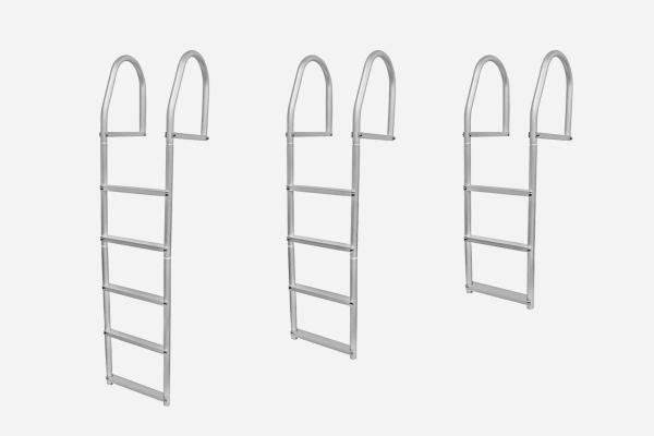 5, 4 and 2 Step Dock Ladders for Koenders Docks