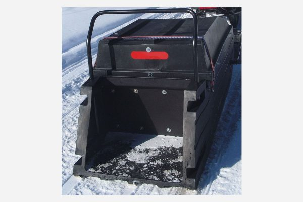 Snow Tracker Sled Musher With Bar